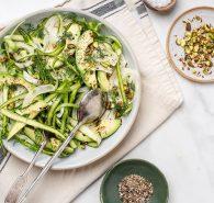 Avocado + Fennel Green Salad